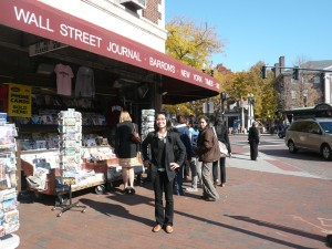 around Harvard Square
